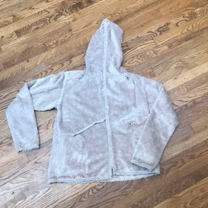 Brown soft fleece Patagonia jacket